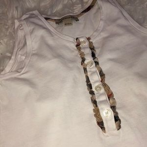 """Intro to Brit"" Girls Burberry Top"